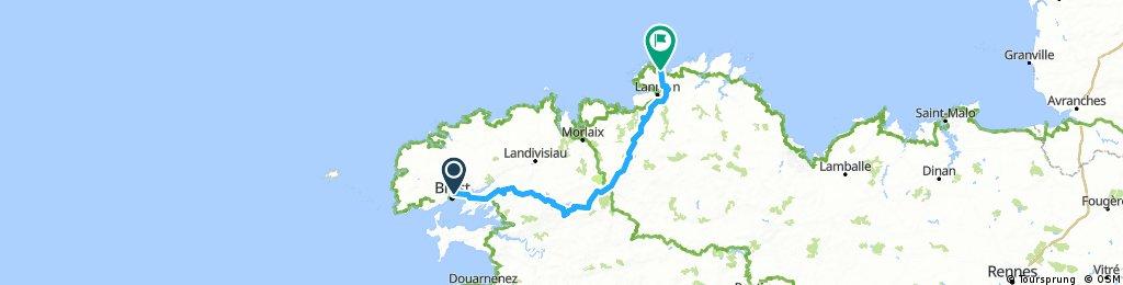 Perros-Brest-Perros (retour)