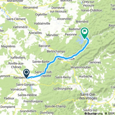 Pierre Percee Climb 33km