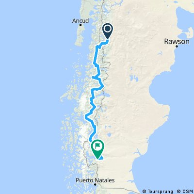 Southern Patagonia - Esquel to Calafate