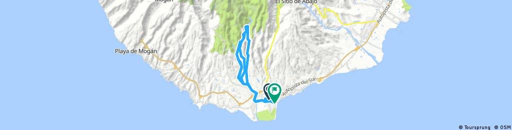 Lange Ausfahrt durch San Bartolomé de Tirajana
