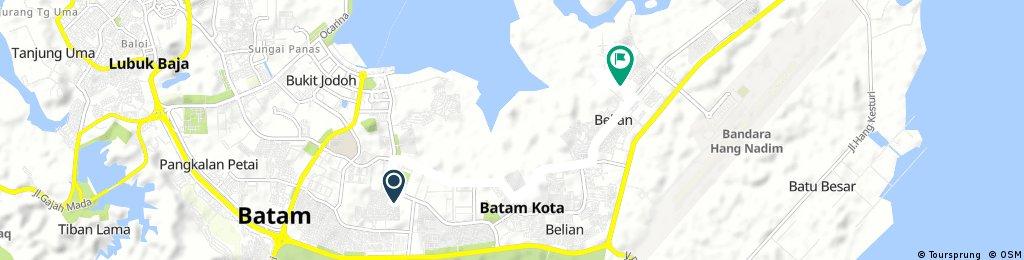 bike trip botania Batam Kota