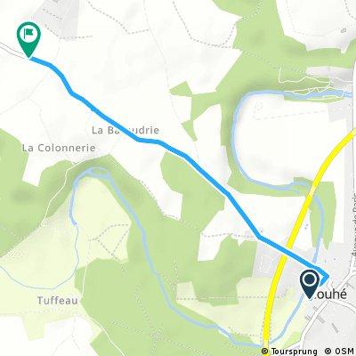 3 km Couhé