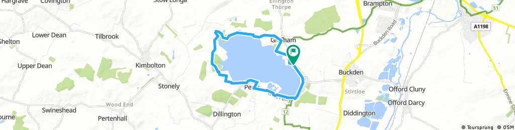 ride through Huntingdonshire