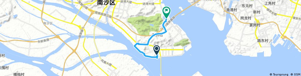 new Nansha and waterfront connection