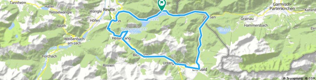 Plansee-Reutte-Ehrwald