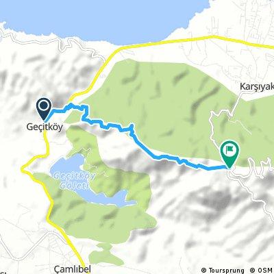 Walking - Gecitkoy - Karsiyaka one way