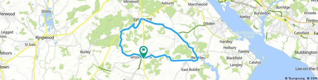 Brockenhurst- Lydhurst- Beaulieu