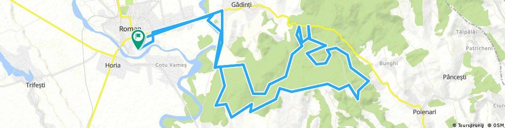 MTB Roman - Maraton, traseu amatori