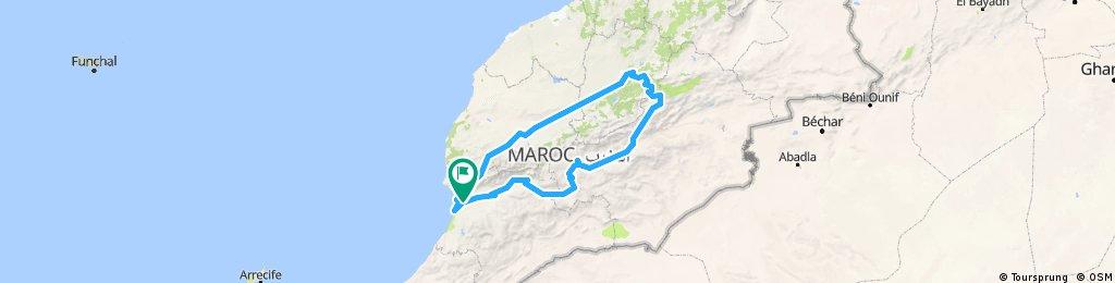 Maroko - nasza trasa