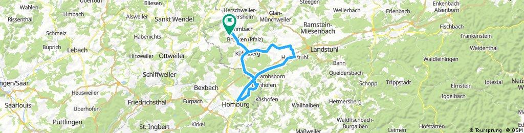 Homburg Bechhofen Hauptstuhl Elschbach