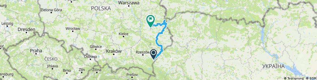 GreenVelo Przemyśl - Włodawa - Lublin