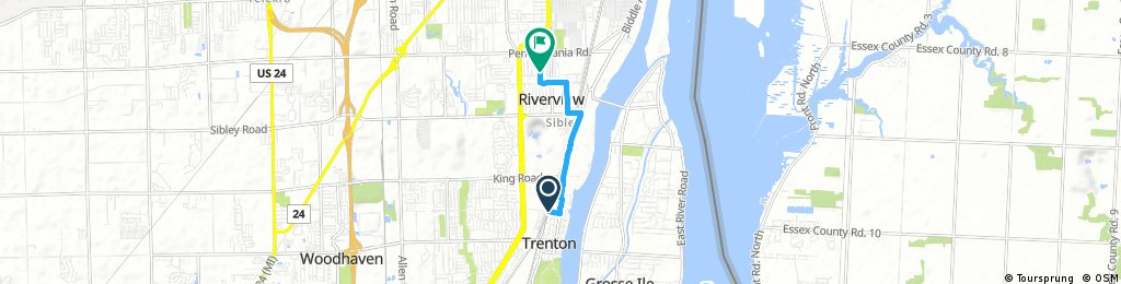Short bike tour through Riverview