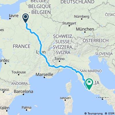 summer route to paris St Germain