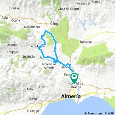 Huercal - Alcubillas - Alhabia - Huercal