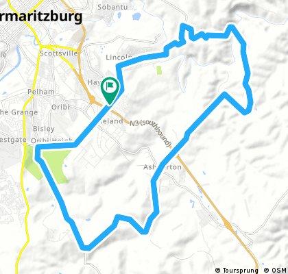 Ashburton 40km loop