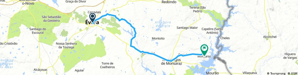 Day 1 Evora to Monsaraz