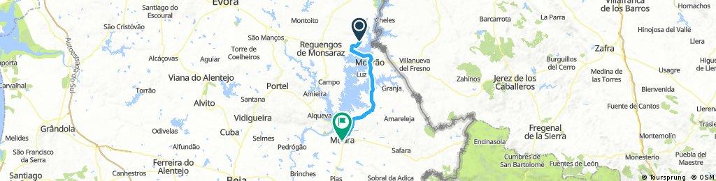Day 2 Monsaraz to Moura