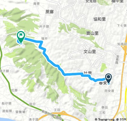 2017.12.9 彩虹眷村-清新溫泉-收容所 15km