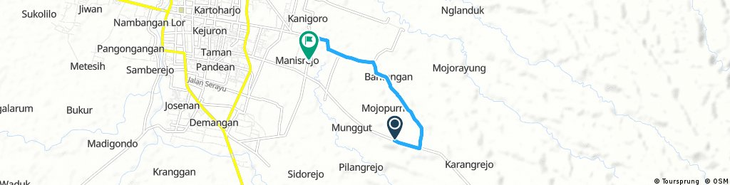 Short ride through Manisrejo