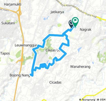 ride through Nagrak 9 des