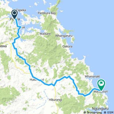 Day 11 Pahia- Matapouri
