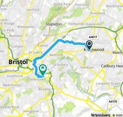 Bristol Bath Cycle Route