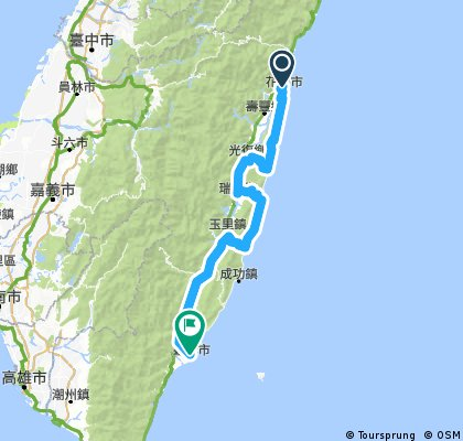Taiwan- East