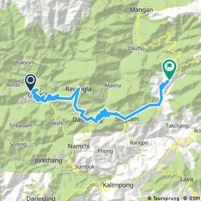 Pelling to Gangtok