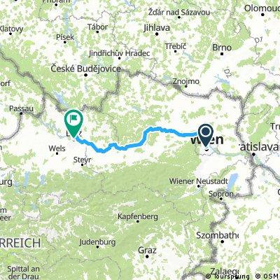 Von Wien nach Linz