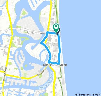 Quick bike tour through Gold Coast