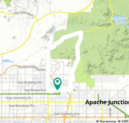 Usery Pass Road Bike Ride – Mesa, Arizona