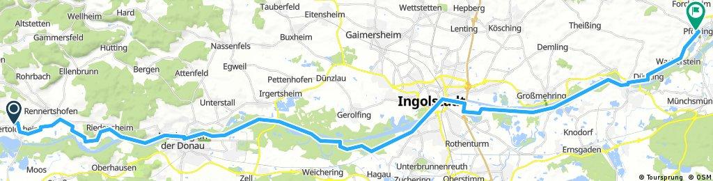 Donau-Radweg Tag6