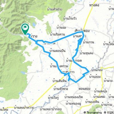 Mae Wang - Lamphun County loop