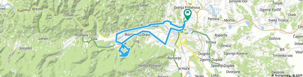 Košaki - Ruše - Martnica na Pohorju - Maribor