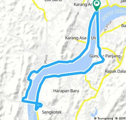 ride through mahulu