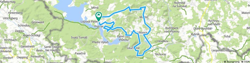 Lipno AOkolí 53 km