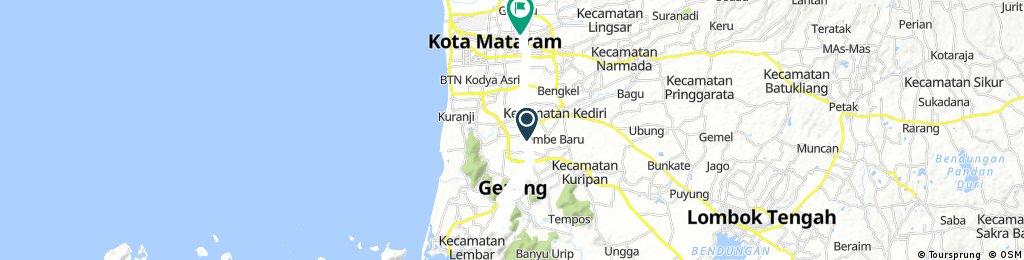 ride through Bukit Idung
