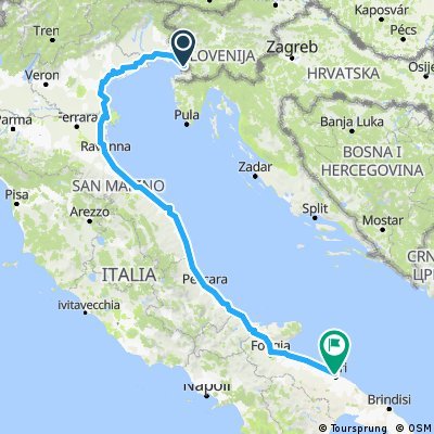Trieste -Bari