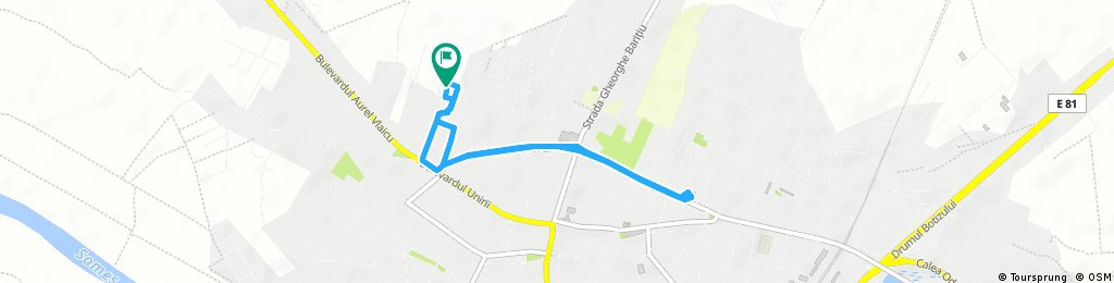 Short bike tour through Municipiul Satu-Mare