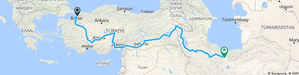 8.März - 15.Mai 2018: Istanbul-Teheran