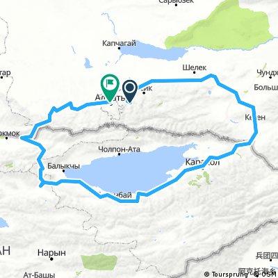 Ałmaty + Kirgistan 2