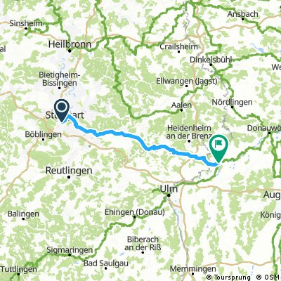 BaWü 001: Von Stuttgart zur Donau