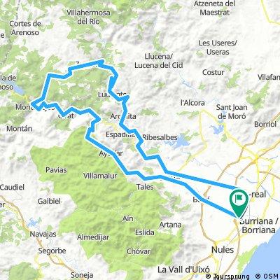 Alquerías-Zucaina-Torrechiva-Fuentes-Alquerías