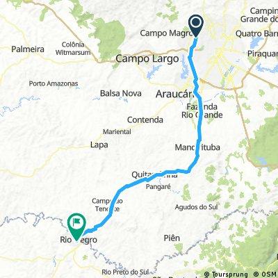 Curitiba - Rio Negro