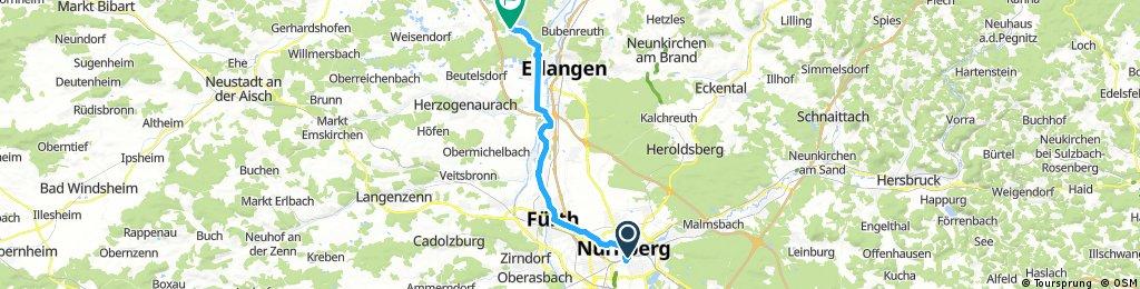 Nürnberg - Koblenz Etappe 1/13