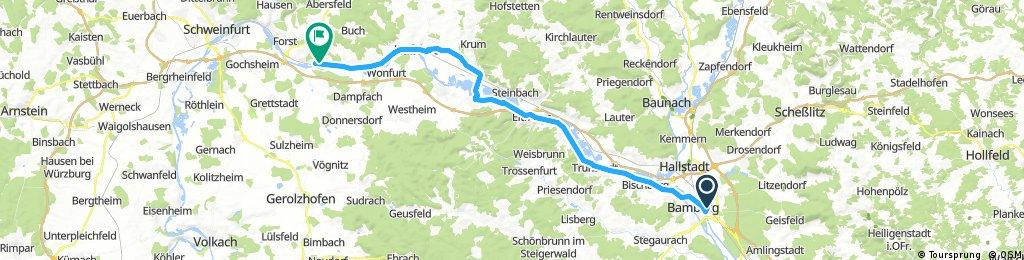 Nürnberg - Koblenz Etappe 3/13