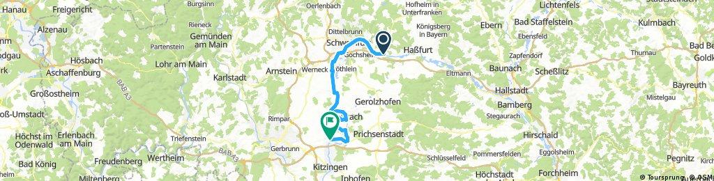 Nürnberg - Koblenz Etappe 4/13