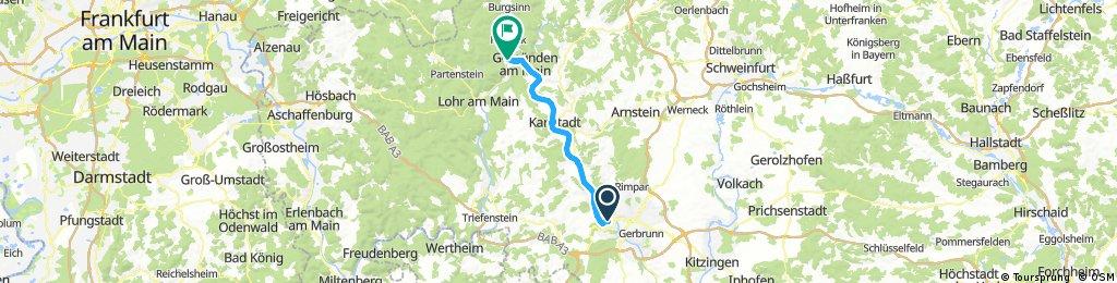Nürnberg - Koblenz Etappe 6/13
