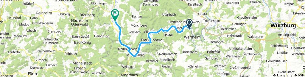 Nürnberg - Koblenz Etappe 8/13