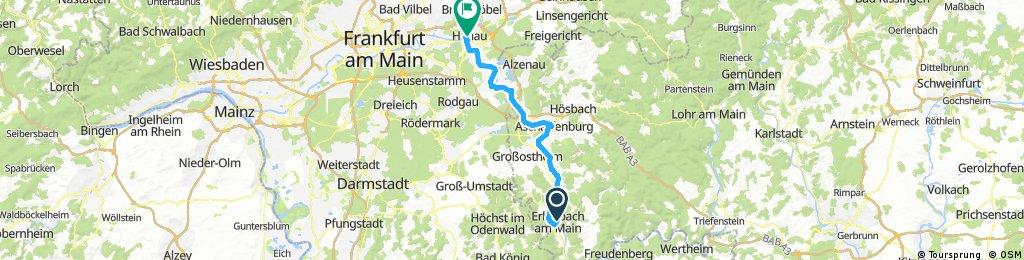 Nürnberg - Koblenz Etappe 9/13